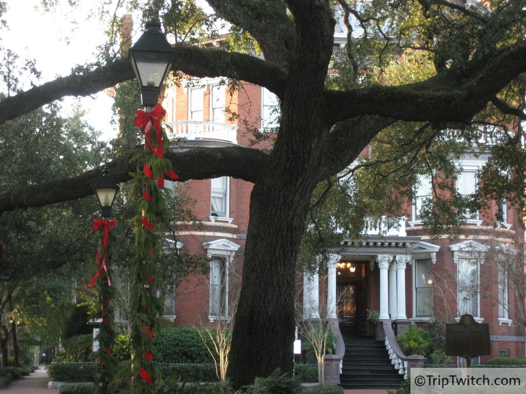A home in Savannah's Historic District